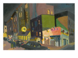 4th Street of West Village Giclee Print by Zhang Yong Xu