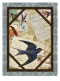 Barn Swallow Giclee Print by Kate Ward Thacker