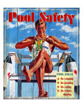 Pool Safety Giclee Print by Kate Ward Thacker