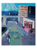 City Center Down Town Giclee Print by Zhang Yong Xu
