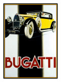 Bugatti Giclée-Druck von Kate Ward Thacker