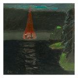 A Serenade Near Lake Giclee Print by Zhang Yong Xu