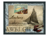 Anchors Aweigh Giclee Print by Kate Ward Thacker