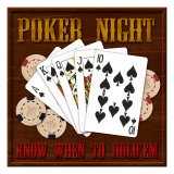 Poker Night Giclee Print by Kate Ward Thacker