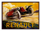 Renault Giclée-Druck von Kate Ward Thacker