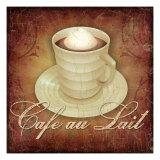 Cafe au Lait Giclée-Druck von Kate Ward Thacker