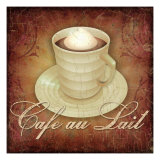 Cafe au Lait Giclee Print by Kate Ward Thacker
