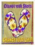 Change Your Shoes Giclee Print by Kate Ward Thacker