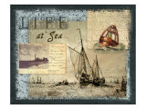 Life at Sea Giclee Print by Kate Ward Thacker
