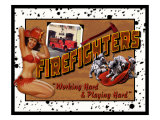 Firefighter Giclee Print by Kate Ward Thacker