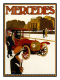 Mercedes Reproduction procédé giclée par Kate Ward Thacker