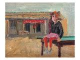 Grasp Rice Master's Daughter Giclee Print by Zhang Yong Xu