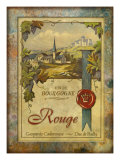 Vin de Bourgogne Giclee Print by Kate Ward Thacker