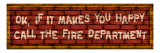Call the Fire Dept Giclee Print by Kate Ward Thacker