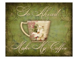 Make My Coffee Giclee Print by Kate Ward Thacker