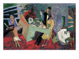 A Party at a Hotel Giclee Print by Zhang Yong Xu