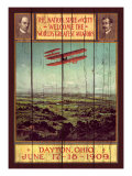 Wright Brothers Giclee Print by Kate Ward Thacker