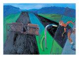 Highway 278 Giclee Print by Zhang Yong Xu
