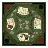 Poker Table Giclée-Druck von Kate Ward Thacker