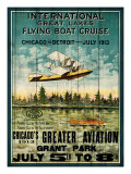 Great Lakes Flying Boats Giclee Print by Kate Ward Thacker