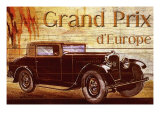 Grend Prix d'Europe Giclee Print by Kate Ward Thacker