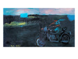 To Crazy at My Will by Motorbike Giclee Print by Zhang Yong Xu