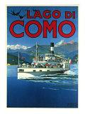 Lago di Como Giclée-Druck