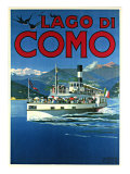 Lago di Como Giclee Print