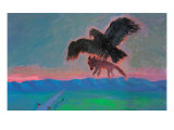Achievement with Condor Giclee Print by Zhang Yong Xu