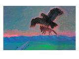 Achievement with Condor Giclee Print by Zhang Yong Xu
