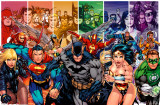 DC Comics - Justice League of America Generations Posters