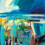 Pam Carter - THE FLAT ISLE Sběratelské reprodukce