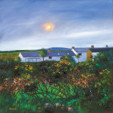 CORNISH COTTAGES Limited Edition by Davy Brown