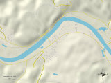 Political Map of Winfield, WV Photo