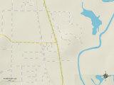 Political Map of Flint City, AL Poster