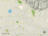 Political Map of San Jacinto, CA Photo