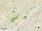 Political Map of Mountain Brook, AL Photo