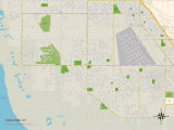 Political Map of Syracuse, UT Prints