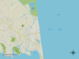 Political Map of Rehoboth Beach, DE Photo