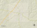 Political Map of Evergreen, AL Photo