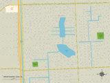 Political Map of Westwood Lake, FL Print