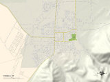 Political Map of Tooele, UT Print
