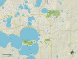 Political Map of Mount Dora, FL Photo