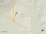Political Map of Tremonton, UT Poster