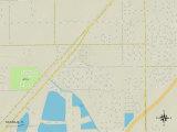 Political Map of Naranja, FL Prints
