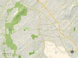 Political Map of Marietta, GA Photo