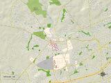 Political Map of Newark, DE Print