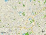 Political Map of Farmington, CT Photo