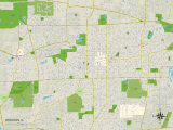 Political Map of Wheaton, IL Photo