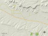 Political Map of Thoreau, NM Photo